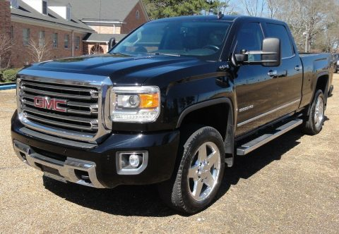 well equipped 2015 GMC Sierra 2500 SLT pickup for sale