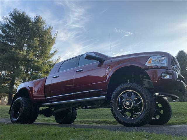 well equipped 2016 Ram 3500 Longhorn Limited pickup