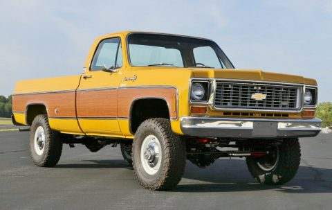 4×4 conversion 1973 Chevrolet C/K Pickup 3500 C20 pickup for sale