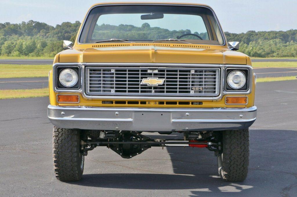 4×4 conversion 1973 Chevrolet C/K Pickup 3500 C20 pickup