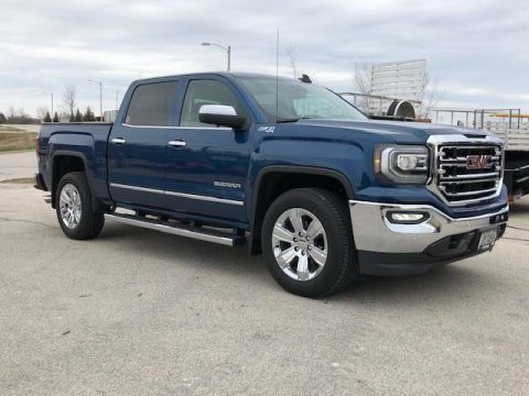 Loaded and low miles 2018 GMC Sierra SLT 1500 pickup for sale