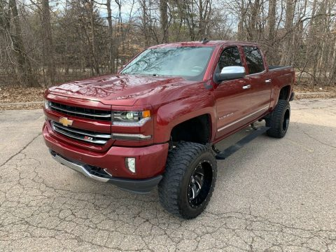 loaded with goodies 2016 Chevrolet Silverado 1500 LTZ pickup for sale