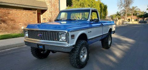modified 1972 Chevrolet C/K Pickup 1500 K10 pickup for sale