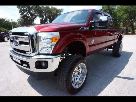 nice and clean 2016 Ford F 250 Lariat pickup for sale