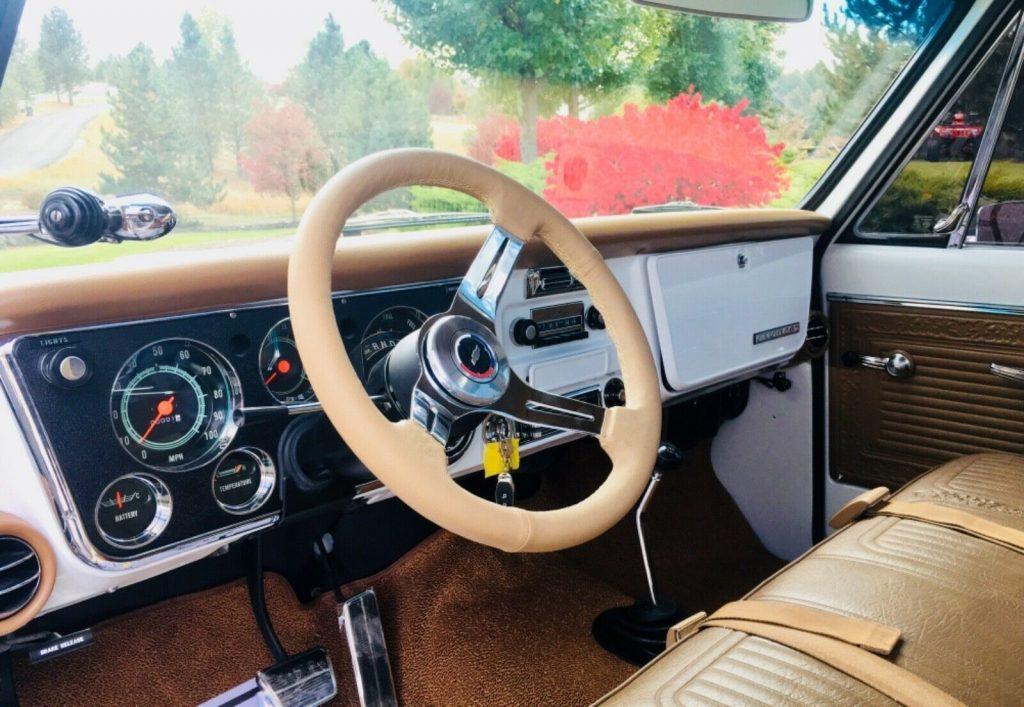 restomod 1969 Chevrolet CST/20 pickup