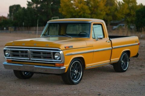 restored 1971 Ford 1/2 Ton Pickup Ranger pickup for sale