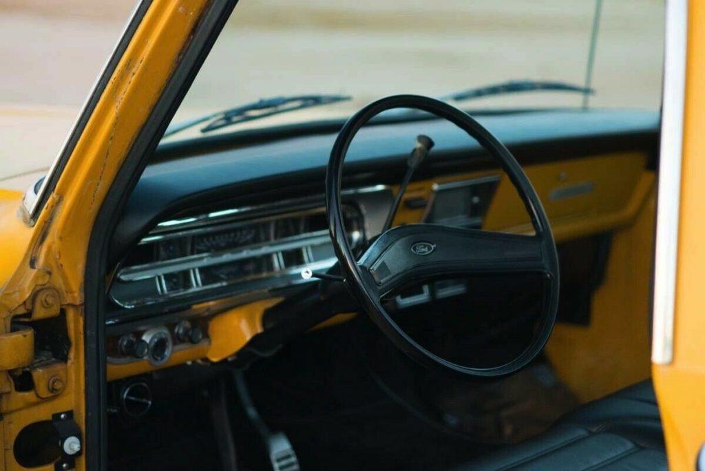 restored 1971 Ford 1/2 Ton Pickup Ranger pickup