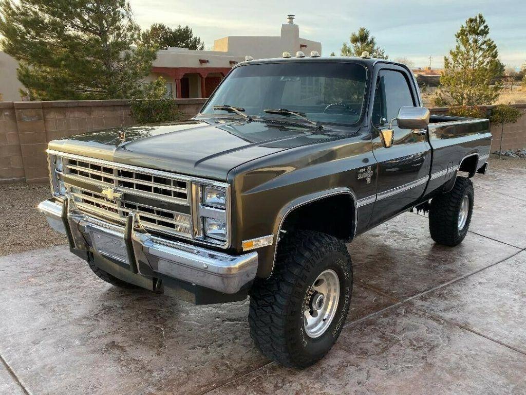 restored 1987 Chevrolet C/K Pickup 3500 K30 pickup