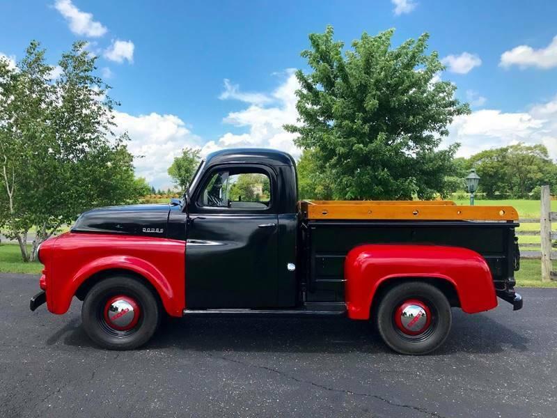 vintage 1953 Dodge Pickups Short BED pickup