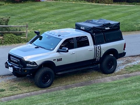 well modified 2018 Ram 2500 pickup for sale