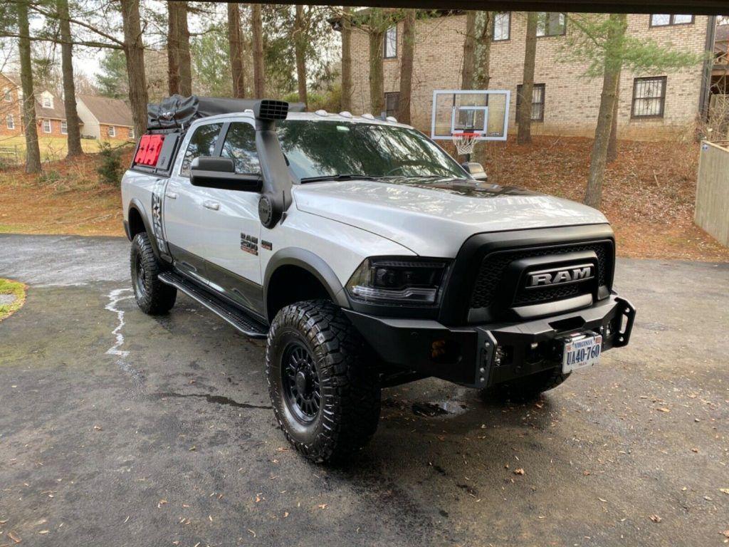well modified 2018 Ram 2500 pickup
